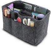 Pelikus Felt Purse Organizer Insert / Multi-Pocket Handbag Shaper (Grey)