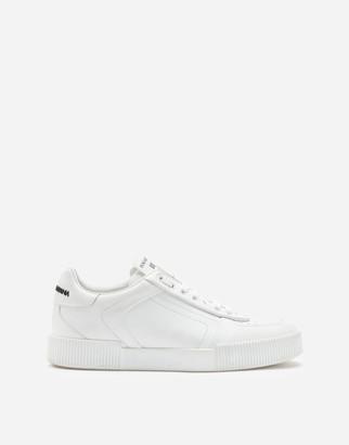 Dolce & Gabbana Miami Sneakers In Calfskin Nappa