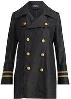 Polo Ralph Lauren Double-Breasted Linen Coat
