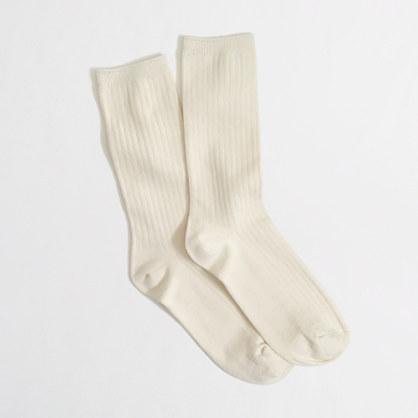 J.Crew Factory Factory ribbed trouser socks
