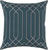 Apt2B Portner Toss Pillow TEAL