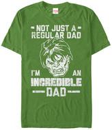 Fifth Sun Men's Tee Shirts KELLY - Hulk 'I'm an Incredible Dad' Tee - Men