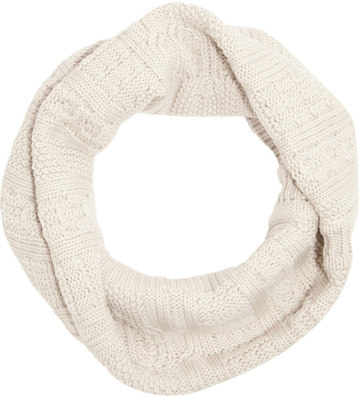 Duffy Cable-knit merino wool snood