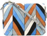 Jerome Dreyfuss Igor chevron pattern shoulder bag