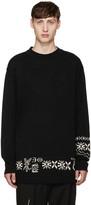 Yohji Yamamoto Black Bottom Sweater