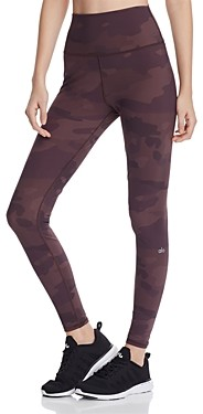 Alo Yoga Vapor High-Rise Camo Leggings