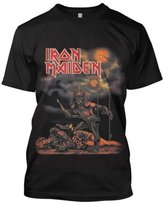Global Men's Official Iron Maiden Sanctuary T-Shirt Medium Black