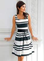Heine Fit & Flare Stripe Dress
