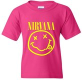 Artix Nirvana American Grunge Rock and Roll Music Kid Rock Fashion People Couples Gifts Unisex Youth Kids T-Shirt Tee Clothing