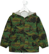 Babe And Tess - camouflage print coat - kids - Cotton/Spandex/Elastane - 3 yrs