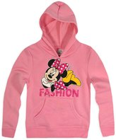 Disney Girls Minnie Mouse Hoodie New Kids Hooded Sweatshirt