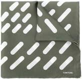 Tom Ford striped square scarf