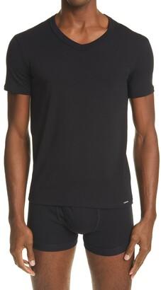Tom Ford Cotton Jersey V-Neck T-Shirt