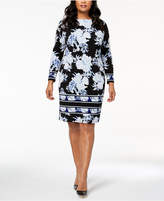 INC International Concepts I.n.c. Plus Size Printed Dress, Created for Macy's
