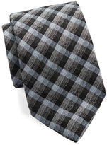 Michael Kors Gingham Plaid Tie