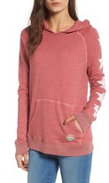Sundry Women's Graphic Pullover Hoodie