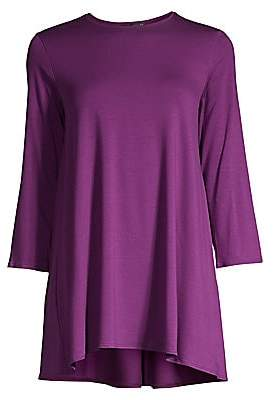 Eileen Fisher Women's Body Skimmer Crewneck Tunic
