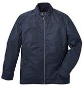 Black Label Smart Nylon Harrington Jacket Long