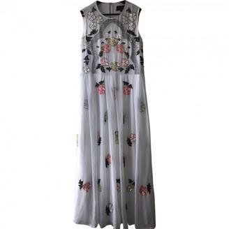 Needle & Thread White Glitter Dress for Women