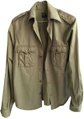 Jean Paul Gaultier Khaki Cotton Top for Women