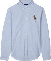 Ralph Lauren Embroidered Luxury Logo Cotton Shirt 6-14 Years