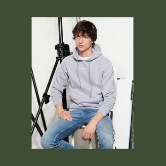 Sandro Hoodie sweatshirt with logo embroidery