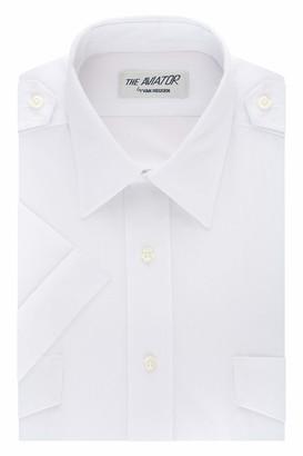 Van Heusen Men's Men's Pilot Dress Shirt Short Sleeve