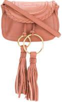 See by Chloe tassel embellished clutch