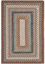 Safavieh Braided Brown Area Rug Rug