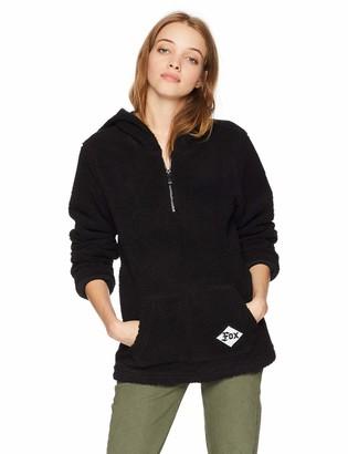 Fox Junior's Road Raider Sherpa 1/4 Zip Pullover Hooded Sweatshirt