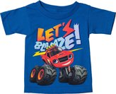 Freeze Little Boys Blaze and the Monster Machines T-Shirt Royal