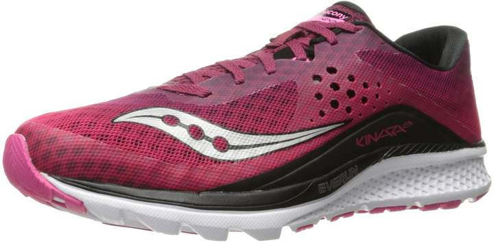 Saucony Women's Kinvara 8 Running Shoes, Berry/Pink