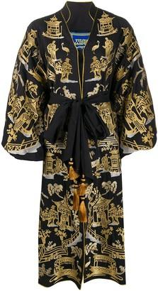 Yuliya Magdych Chinoiserie kimono dress
