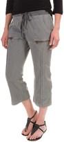 XCVI Marco Crop Pants - Stretch Poplin (For Women)