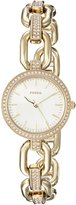 Fossil Women's Quartz Stainless Steel Casual Watch, Color:-Toned (Model: ES4125)