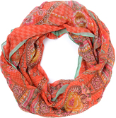 Oilily Rose Fun Paisley Infinity Scarf