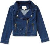 Kate Spade Big Girls 7-14 Knit Moto Jacket