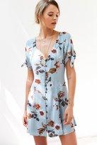 Kimchi & Blue Kimchi Blue Sally Sue Tie-Sleeve Mini Dress
