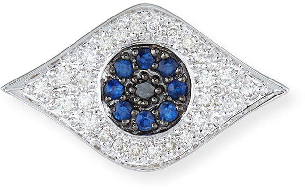 Sydney Evan Large Evil Eye Single Stud Earring