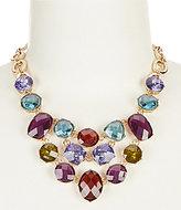 Anne Klein Multi-Stone Frontal Necklace