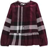 Burberry Checked Cassia Blouse