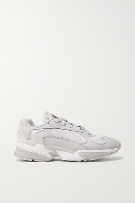 adidas Yung-1 Suede And Mesh Sneakers - Off-white