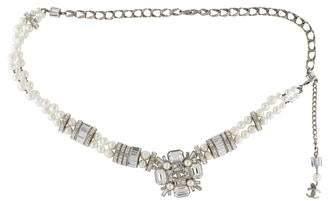 Chanel Crystal & Faux Pearl Belt