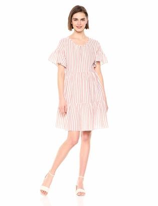Velvet by Graham & Spencer Women's Nikki Stripe Woven Dress