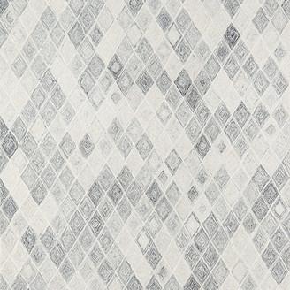 Momeni Cortland Wool Hand Tufted Gray Area Rug, 2'x3'