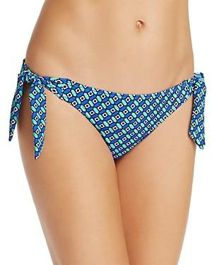 Echo Villa Tile Side Tie Bikini Bottom