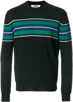 MSGM striped knit jumper
