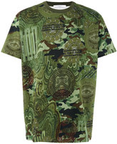 Givenchy camouflage print T-shirt - men - Cotton - XS