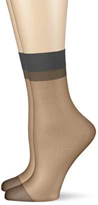Hudson Women's 002033 Socks, 15 DEN,(Pack of 2)