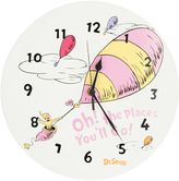 Trend Lab Dr. Seuss's Oh! the Places You'll Go! Wall Clock by Pink